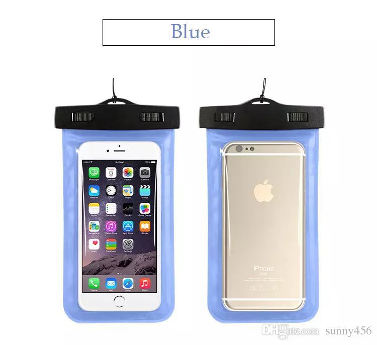 Funda impermeable A prueba de agua Bolsa 10 funda para brazalete de color Funda para cajas de teléfonos celulares universales Todos los teléfonos celulares Accesorios para celulares