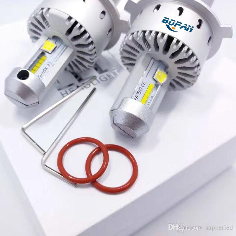 new design 7S auto part Car led Headlight bulbs H4 COB CREE chip Headlights fog light head Lamp