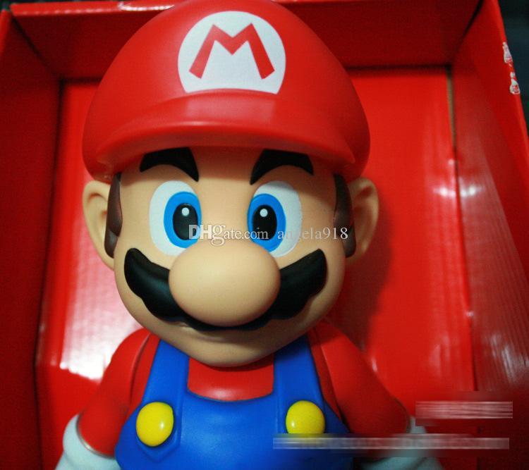 Mario Bros PVC Action figures Toys mario Luigi Koopa Troopa and Mushroom figure E1919