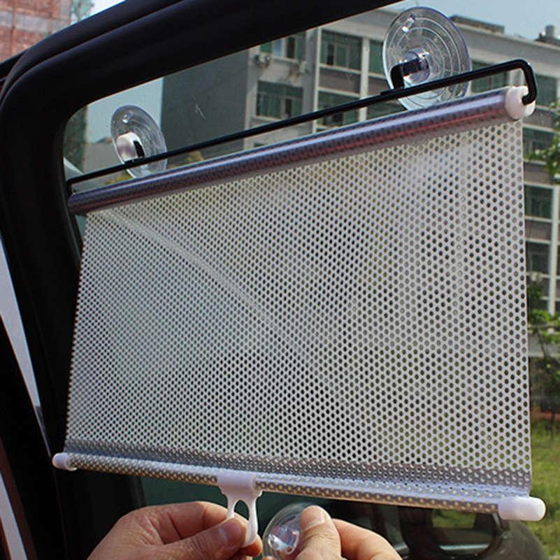 Wholesale Universal Black Car Auto Window Roll Blind Sun Shade Windshield  Sun Visor Screen Solar Protection Car Styling Sunshade Car Cover Car Shade  Car ... 2adf4df755b