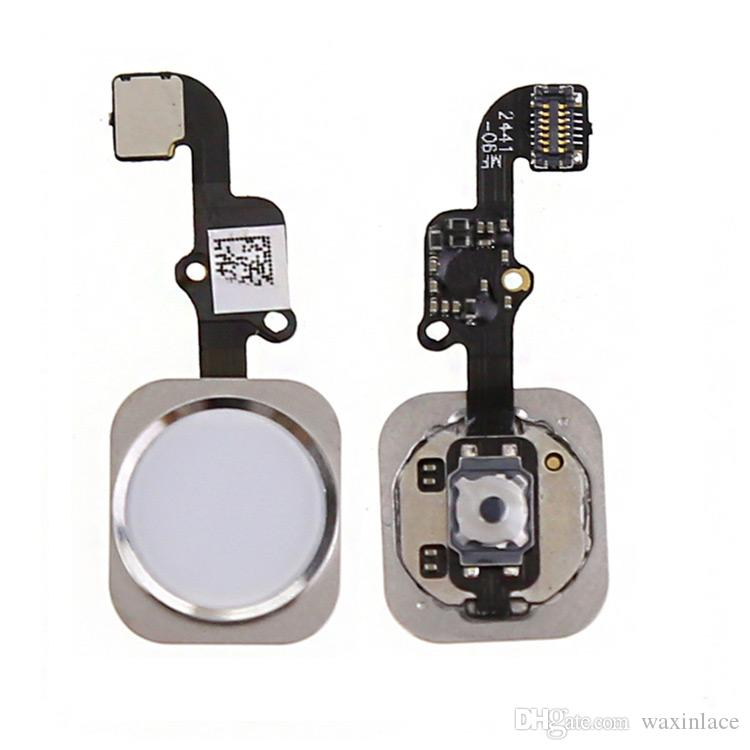 News High Quality Home Button Flex Cable Touch ID For iPhone 6 6G 4.7 Key Sensor Ribbon Complete Assembly Spare Part Replacement