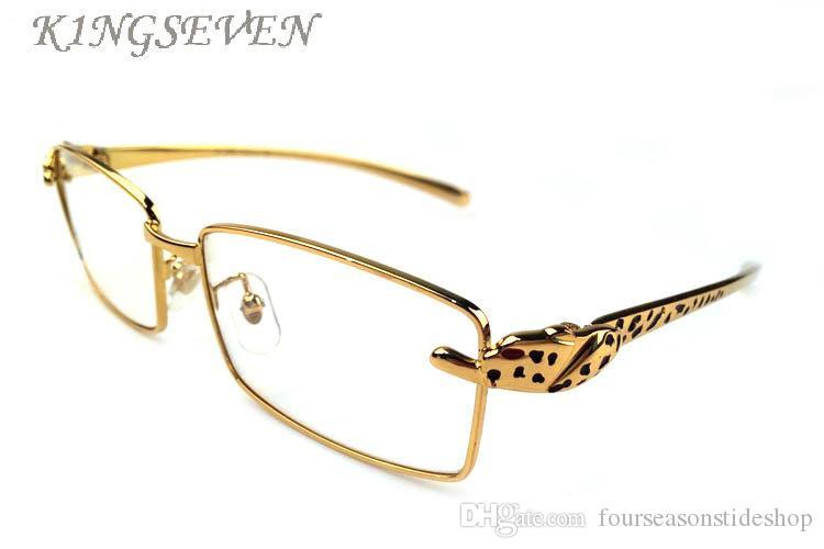 남성 무테 물소 뿔 안경 골드 표범 프레임에 대한 2017 패션 스포츠 선글라스 고품질의 선글라스 태양 안경 lunettes을 여자
