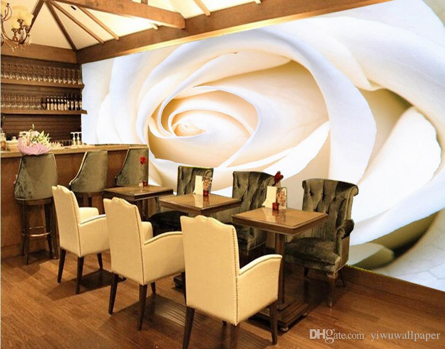 Rose Flower TV Wall Background Wall Decorative Painting mural 3d wallpaper 3d wall papers for tv backdrop