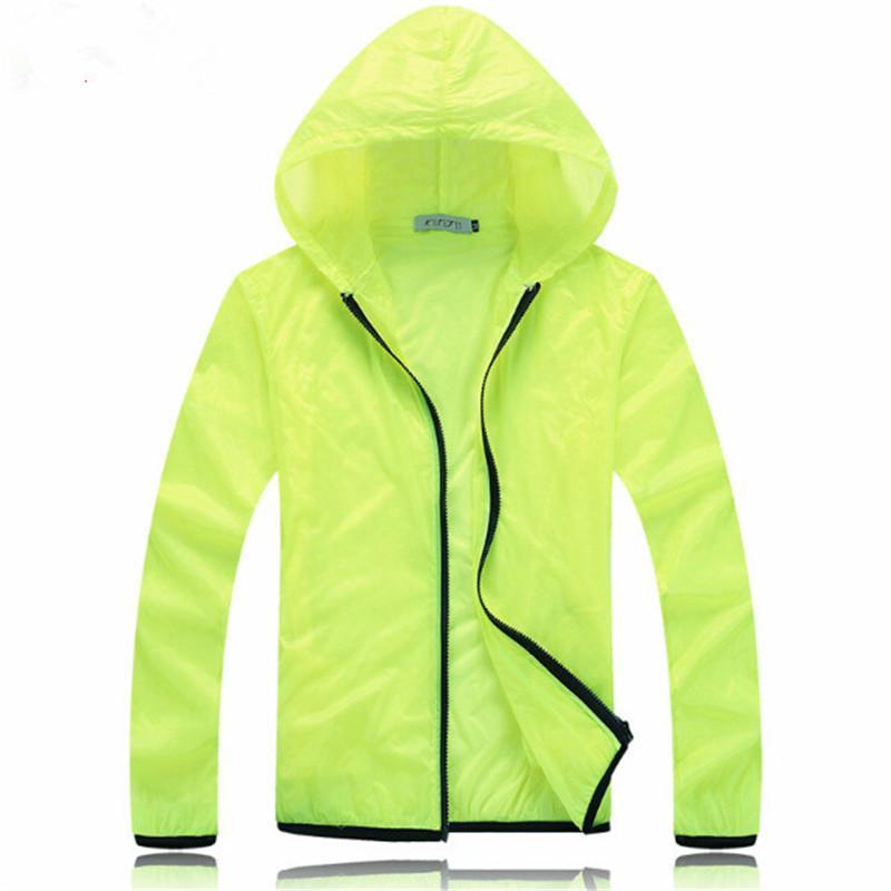 Wholesale Men Jacket Light Coat Hooded Zipper Sunscreen Sportswear ...