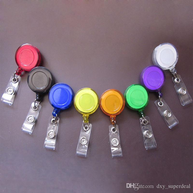Выдвижной ремешок для карточки с ремешком с ремешком с зажимом Keep ID Key Сотовый телефон Сейф