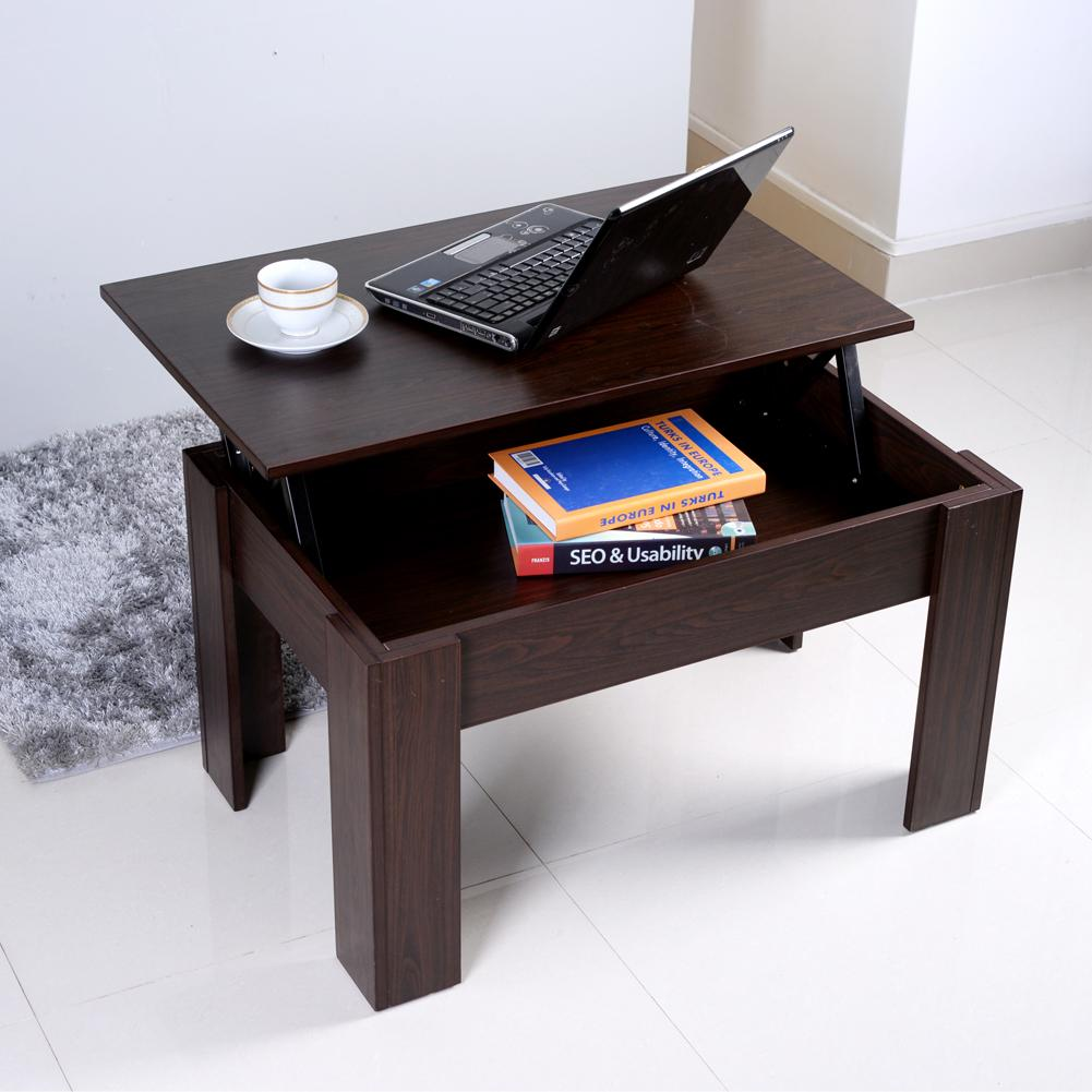 2018 free shiping wooden lift top coffee table computer desk 2018 free shiping wooden lift top coffee table computer desk storage organizer boxwalnutstock in usa from fashionyourlife 6232 dhgate geotapseo Gallery