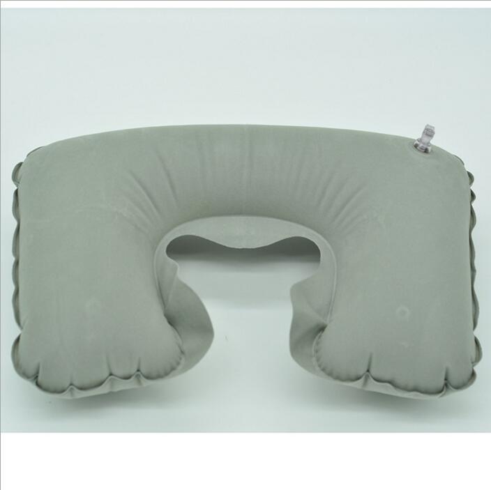 Шея надувная мягкая полётная автомобильная головка для отдыха на шее Компактная дорожная полётная автомобильная подушка надувная подушка для шеи U отдых на воздушной подушке