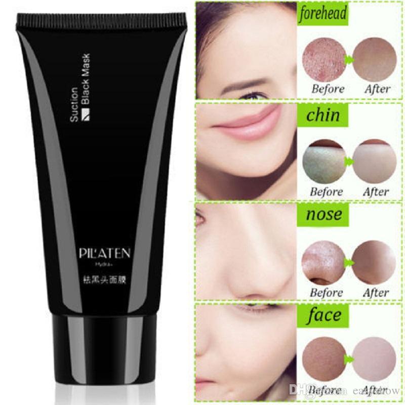 HOT ORIGINAL PILATEN eliminar las espinillas tratamiento para el acné mineral barro negro máscara facial membranas nasales 60 g envío gratis de epacket