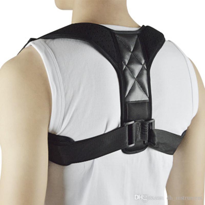 f50409b7f16 NEW Back Posture Corrector Clavicle Support Belt Upper Back Slouching Corrective  Posture Correction Spine Braces Supports Health Back Brace Belt Back Brace  ...
