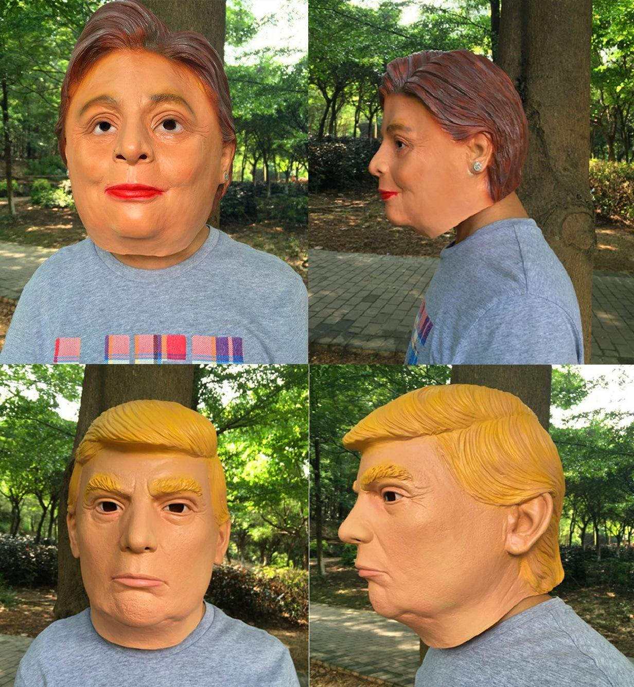 Trump Masks Usa President Halloween Mask Latex Face Mask ...