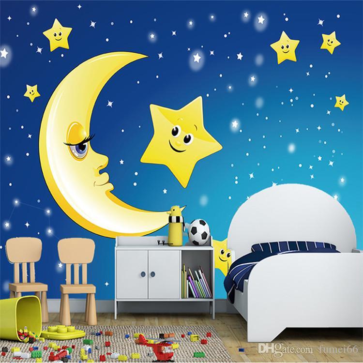 Custom 3d Photo Wallpaper For Kids Room Ceiling Murals