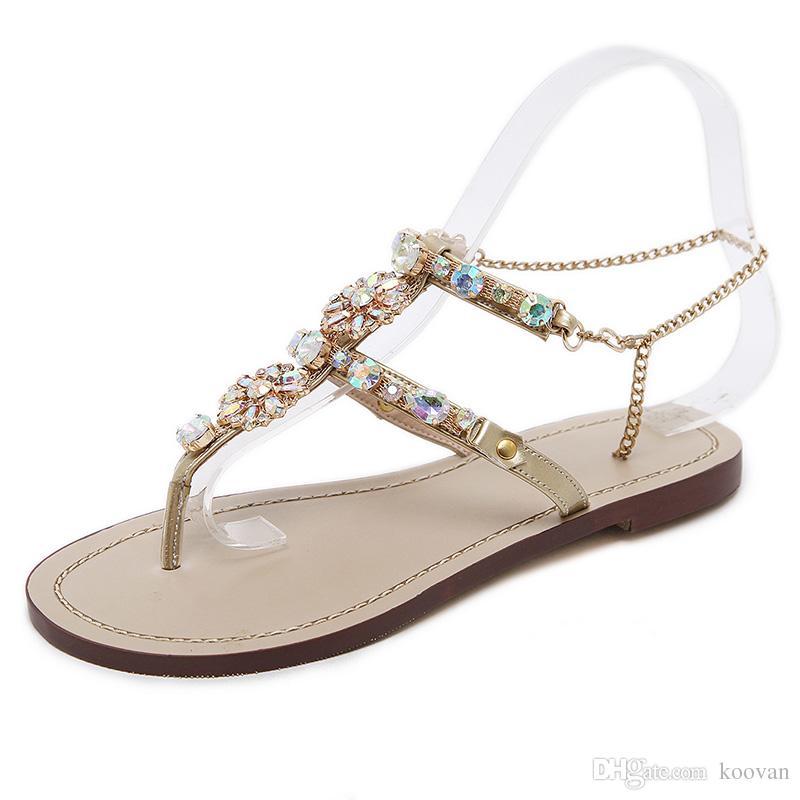 Koovan Women Shoe 2017 Summer Hot Sales National Style Set Toe ... 67c077b0e1b3