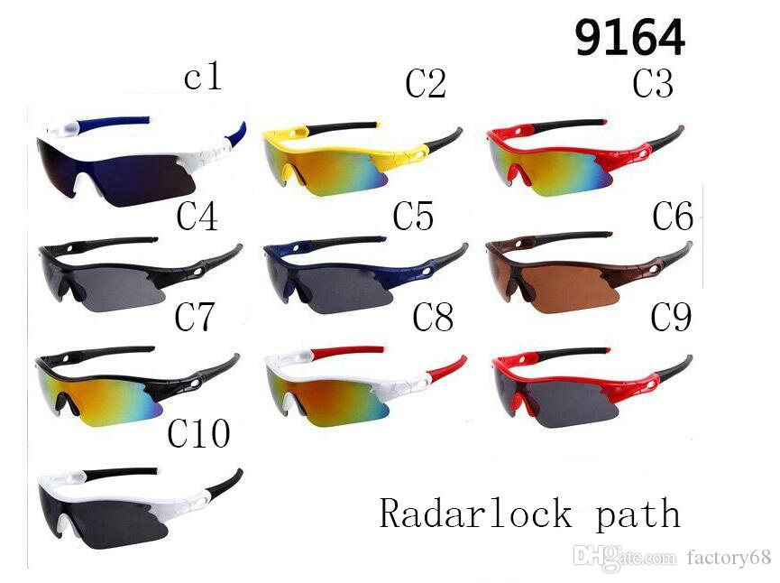 summer newest men sport SUN glasses driving sunglasses Bicycle Glass woman fashion glasses A++ 9164