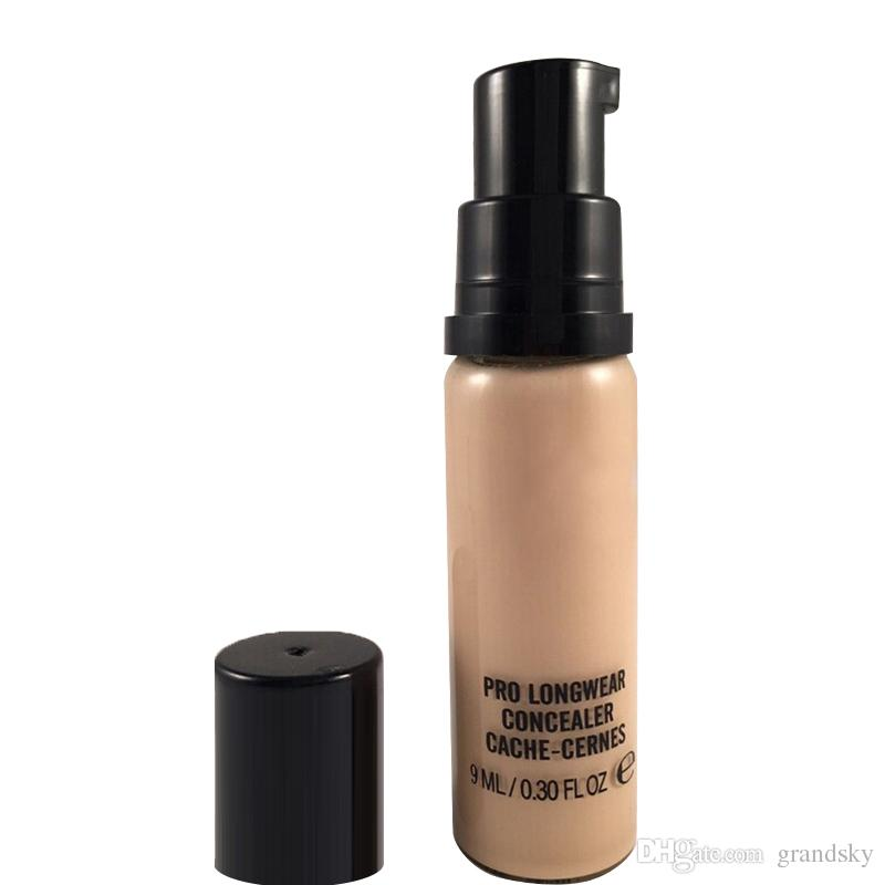 Hot Brand Makeup Liquid Foundation PRO LONGWEAR CONCEALER CACHE-CERNES 9 ML Fondazione Hot NC NW Mixed DHL
