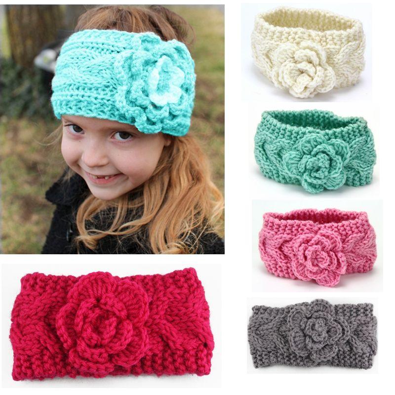 Winter Baby Headbands Crochet Headwraps Knitted Headband For