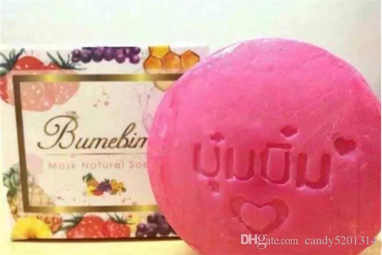 뜨거운 판매 BumeBime 비누 천연 마스크 100g 흰색 밝게 피부 다크 스팟 DHL을 줄이기 무료 배송 A08