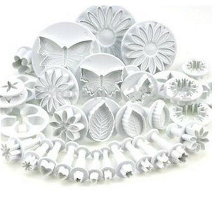 أدوات الغطاس أقراص سكرية القاطع كعكة البسكويت كعكة قالب قوالب الأدوات الحرفية DIY 3D Sugarcraft تزيين الكيك زهرة مجموعة
