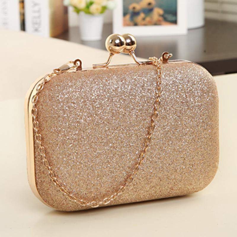 e341a786b8dd Wholesale-2015 New Women Banquet Bag Designer Glitter Chain Clutch ...