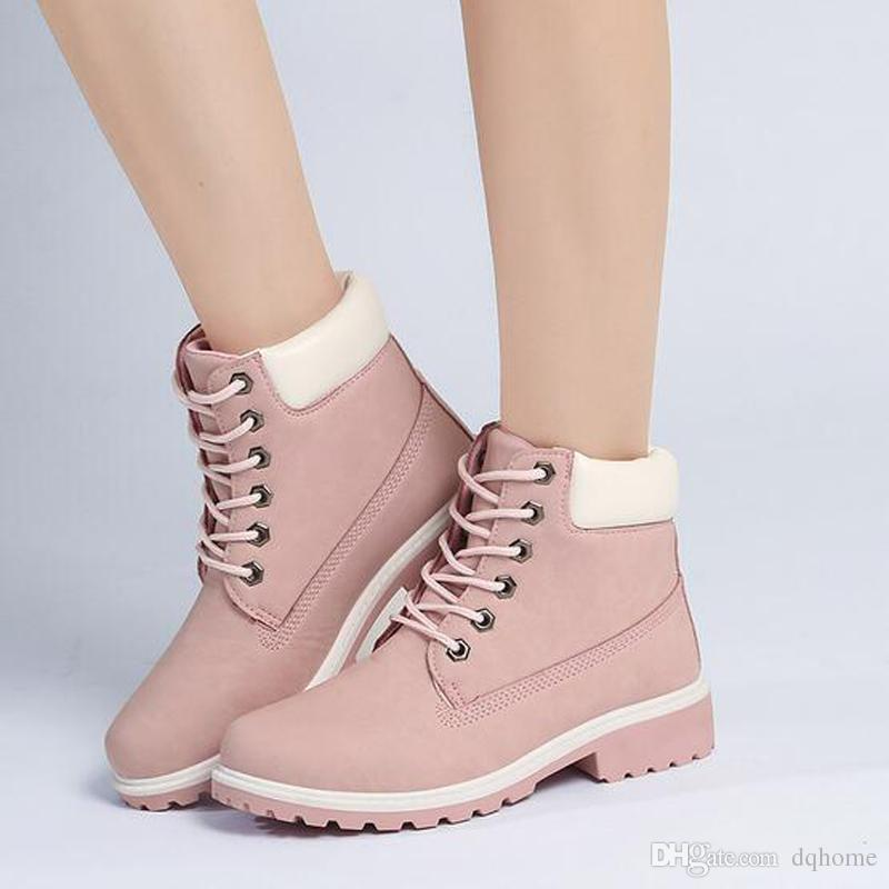 Women Casual Roman Boots Ladies Ankle Boots Women Mens Retro Waterproof Outdoor Work Sports Shoes Casual Sneakers Size 36-41