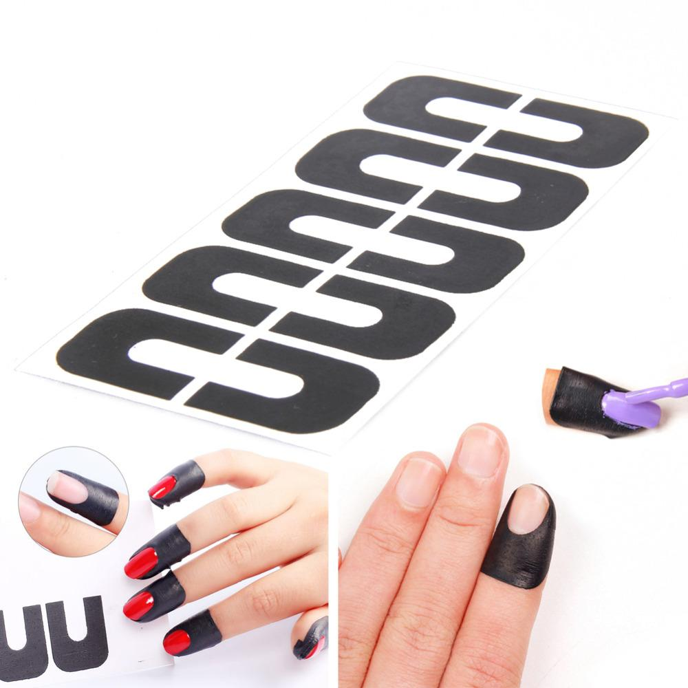 Wholesale Sticks Anti Overflow Sticks Manicure Tool Nail Art ...