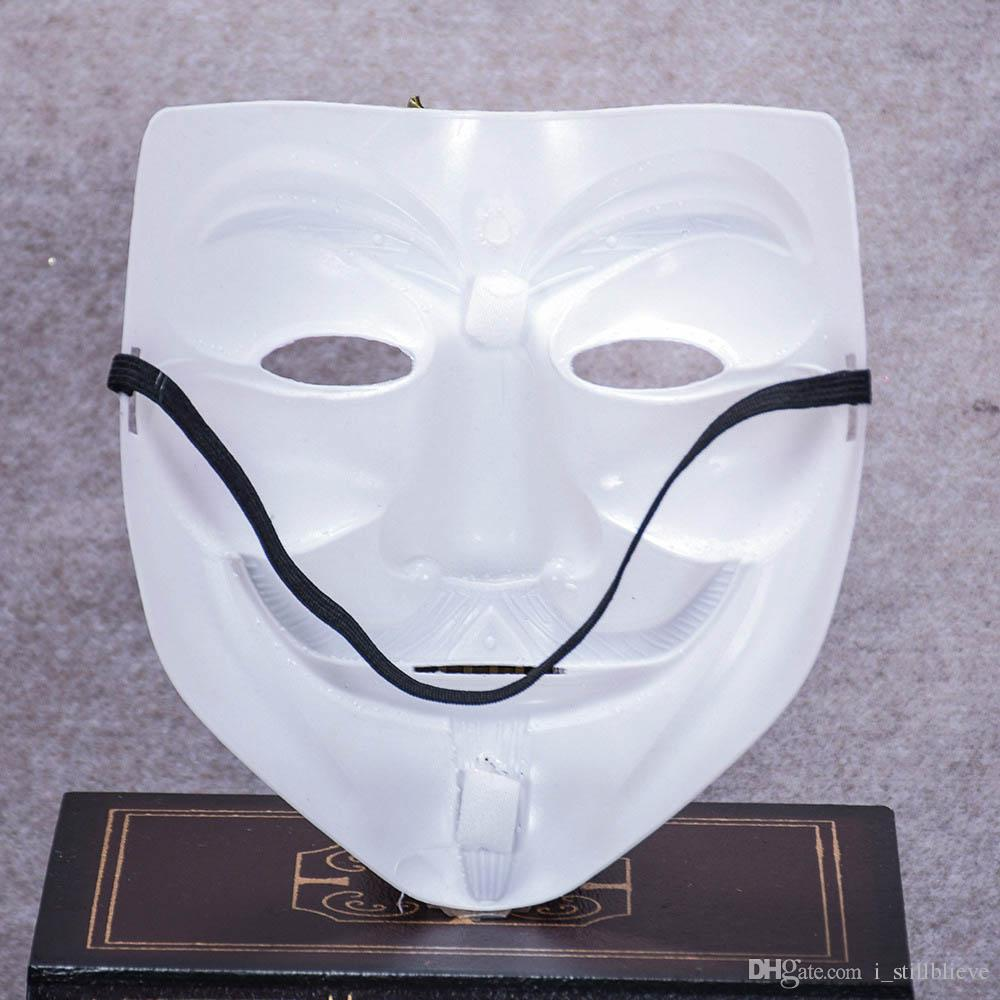 2017 Halloween Party V For Vendetta Mask Guy Fawkes Anonymous ...