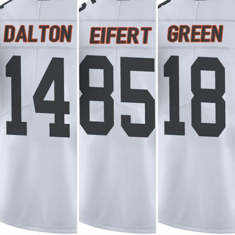 72dc47ba0 ... Mens 2017 18 A.J. Green 85 Tyler Eifert 14 Andy Dalton White Color Rush  Limited Jersey ...