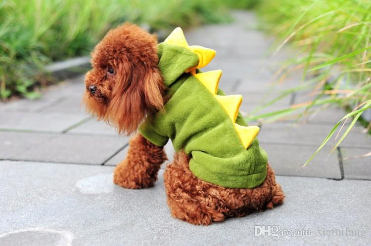 Online Cheap Dinosaur Dog Pet Halloween Costume Xs S M L Xl Pet Dogs Green Coat Outfits Large By Xieruifang | Dhgate.Com : xl dog halloween costumes  - Germanpascual.Com