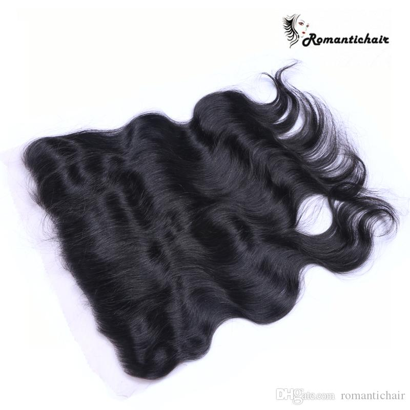 Great quality lace frontal with baby hair 13x4 full ear to ear brazilian lace frontal closure brazilian body wave frontal hair piece
