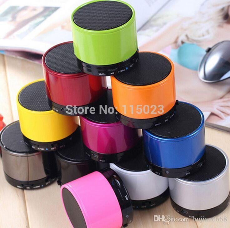 Bluetooth Speaker S10 Mini Wireless Portable Speakers Music Player Home Audio for ipod ipad iphone 4 5 6 Galaxy S4 S5 NOTE 3 MP