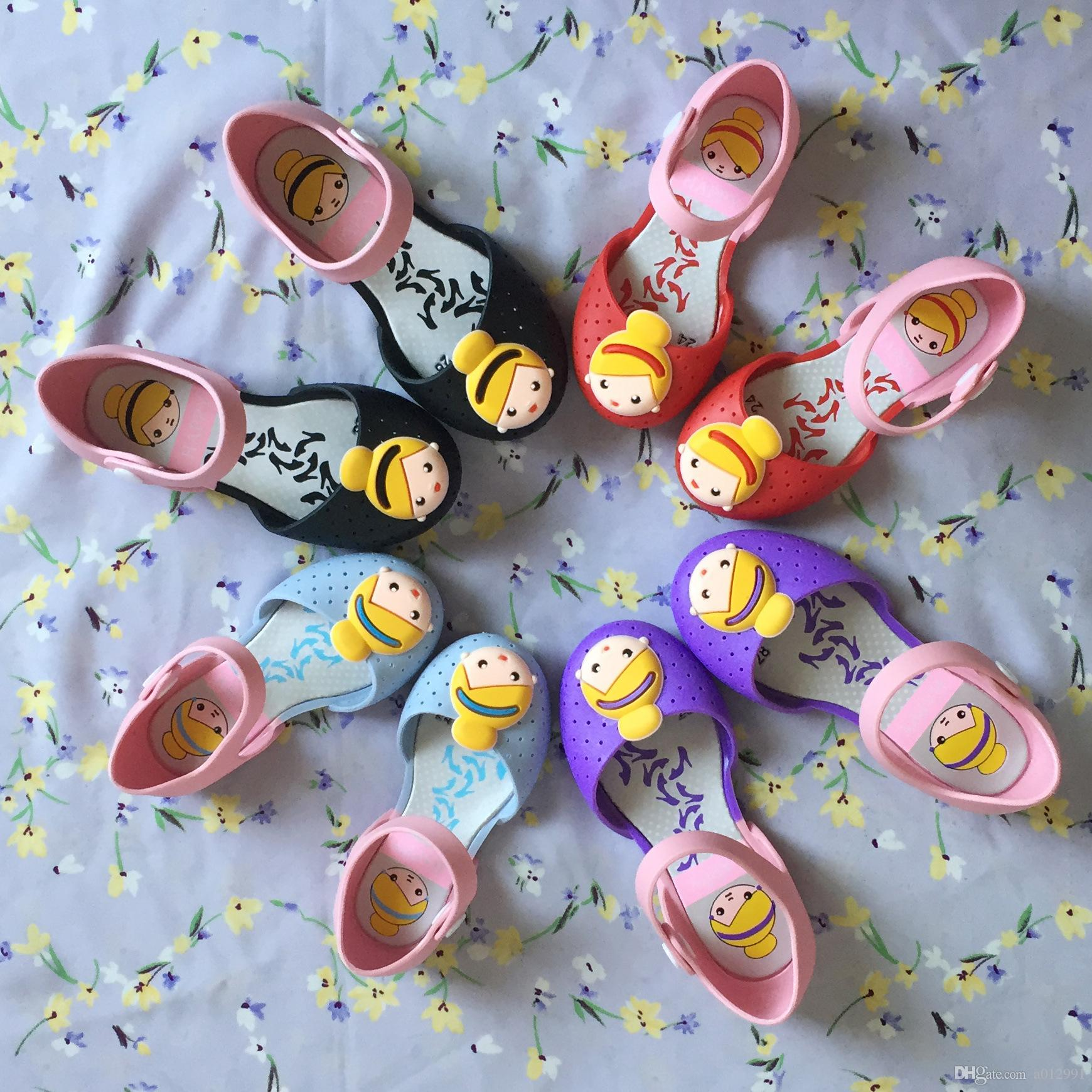 Liberan Los De 2017 Compre Sandalias Las Melissa Zapatos Mini Dhl 35AL4jR