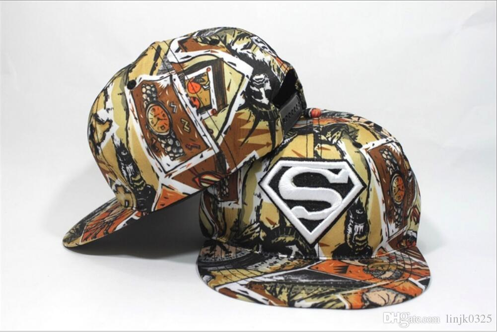 2017 new Kids Berretto da baseball Bambini Ragazzi Hip Hop Hat Moda Iron Man Capitano Superman Batman Spider-Man 3D stampato Cappellini Snapback
