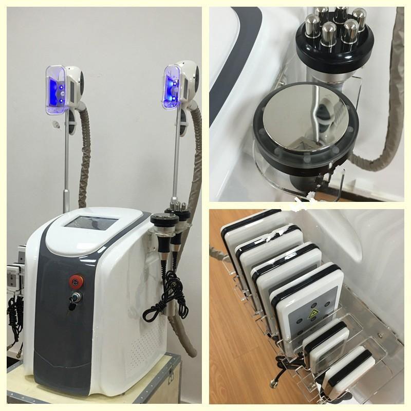 Tragbares fettes Einfrieren, das Maschine Kryo-Kryotherapie-Ultraschall-Kavitation-Rf-Liposuktion-Lipo-Laser fettes brennendes Gewicht-Verlust-Maschine abnimmt