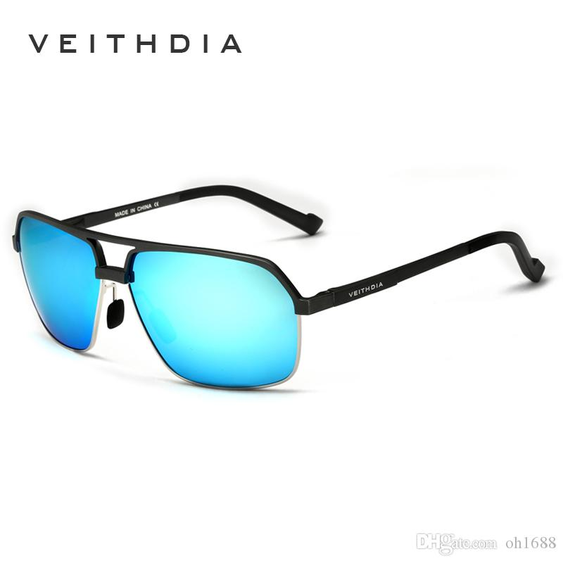 4a44e88ec0b VEITHDIA Aluminum Magnesium Polarized Men S Sunglasses Square Vintage Male  Sun Glasses Eyewear Accessories Oculos For Men 6521 Cheap Designer  Sunglasses ...