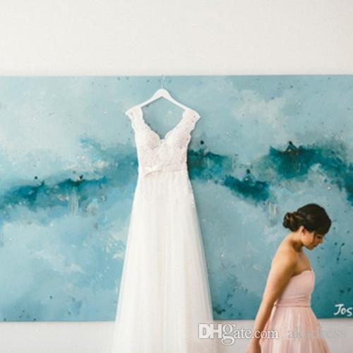 Discount Bohemian Greek Style Wedding Dresses Usa Uk Online Sale V ...