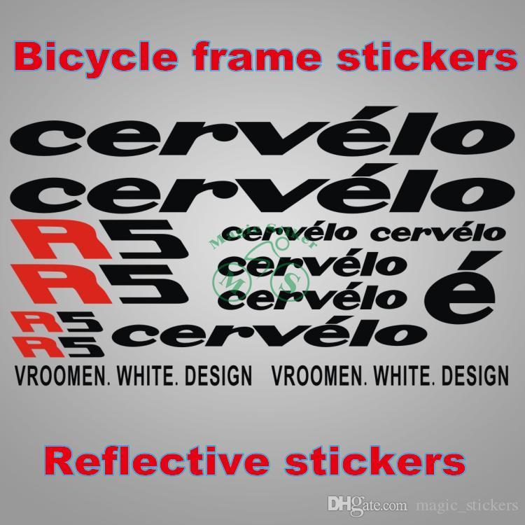 Großhandel Cervelo R5 Fahrrad Rahmen Aufkleber Bike Declas Radfahren ...