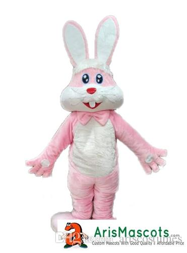 Marvelous Adult Size Funny Pink Rabbit Bunny Mascot Costume Easter Bunny Mascots  Fancy Dress Costumes Advertising Mascots Carnival Party Dress Superhero  Costumes ...