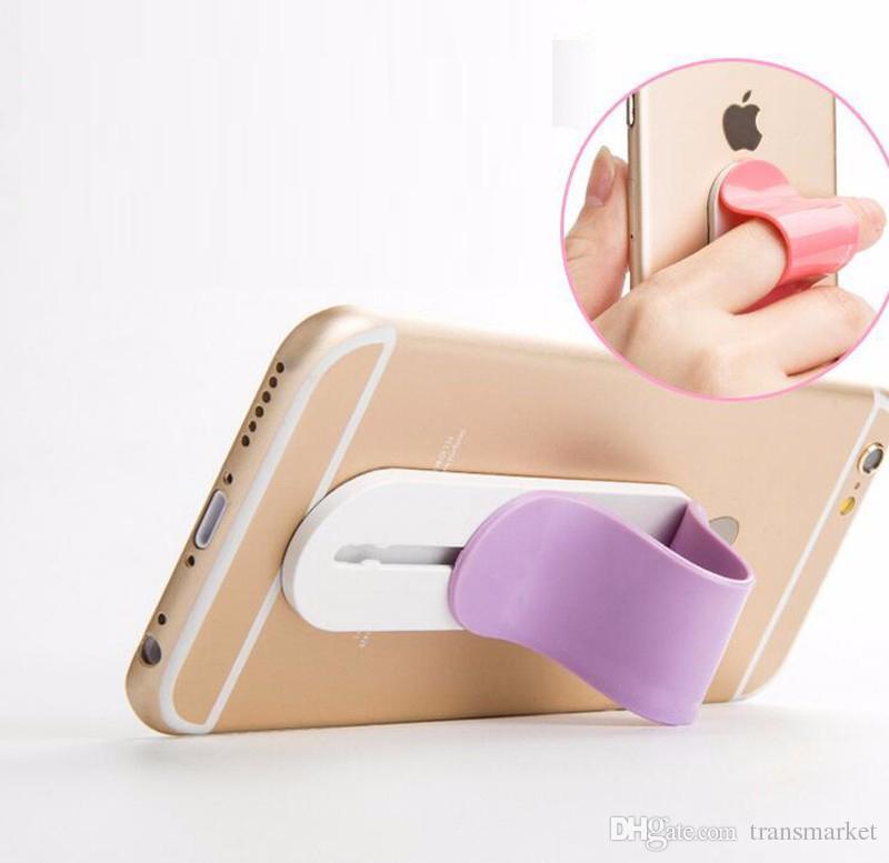 Supporti del supporto del supporto di Smartphone del telefono cellulare dell'anello della barretta di MULTI BAND IPhone Samsung ON5 LG K10 V10 con il pacchetto al minuto