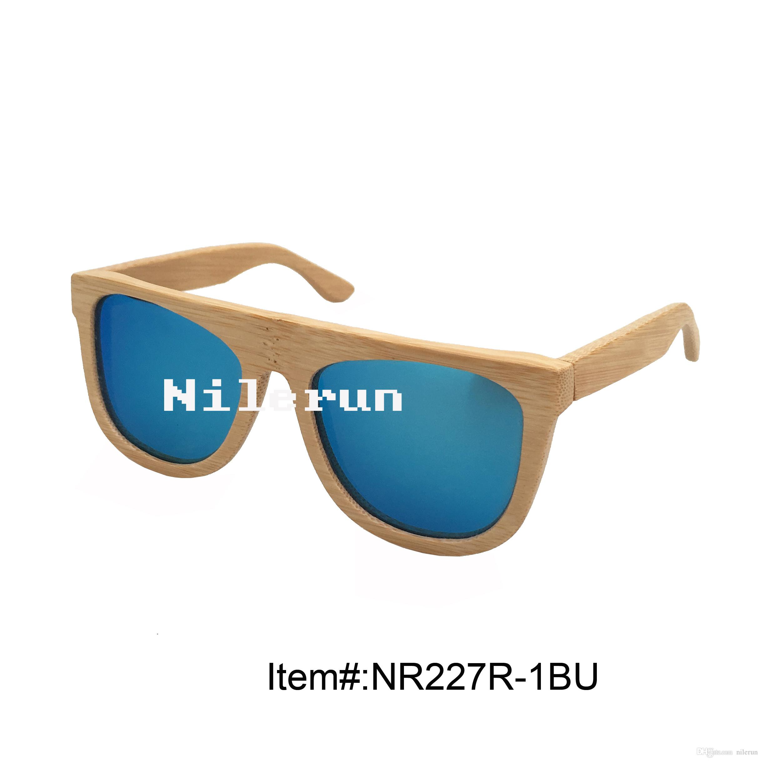 1ee64581d4 Fashionable Blue Polarized Lens Bamboo Frame Sunglasses Bamboo Frame  Sunglasses Mirror Blue Bamboo Sunglasses Blue Polarized Bamboo Sunglasses  Online with ...