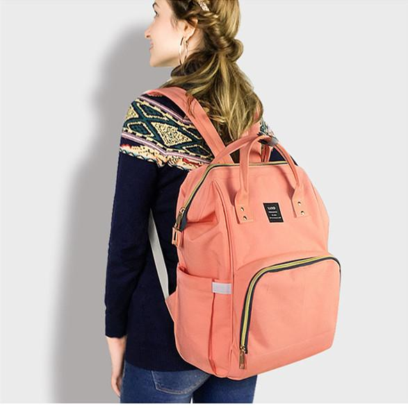 Hot high quality Oxford Large capacity multifunctional mummy backpack nappy bag baby diaper bags mommy maternity bag babies care product
