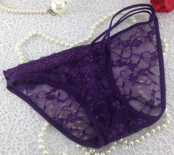 Vrouwen dame sexy g10 kant broek slips lingerie zomer ondergoed onderbroek gemengde kleuren xmas cadeau heet