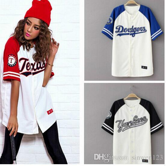 2017 Summer Hip Hop Fashion Baseball T Shirt Korean Style ...