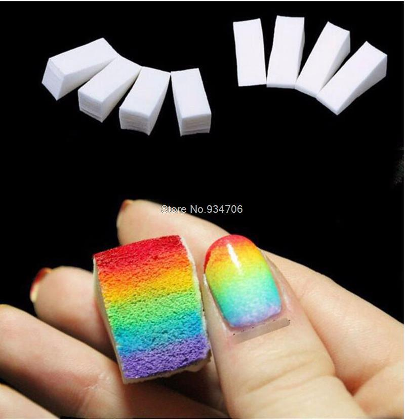 Wholesale Nail Art Toolsgradient Nails Soft Sponges For Color Fade