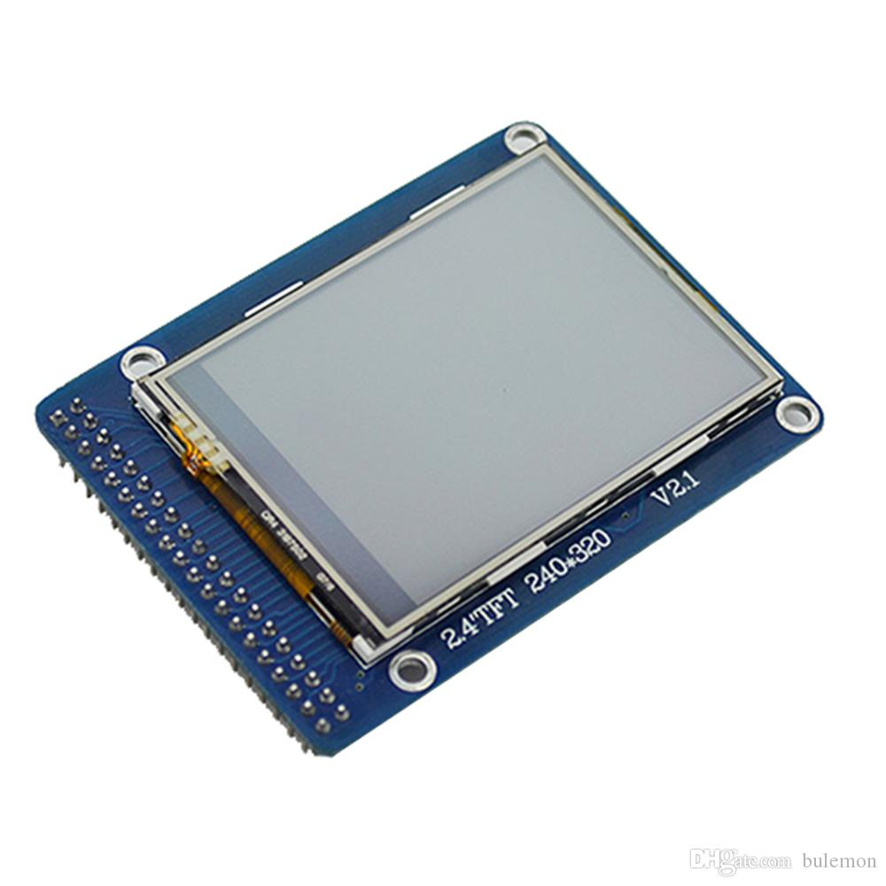 2.4 Inch TFT LCD Color Screen Module With Touch IC SD ILI9341 Card For Altera FPGA Development Board