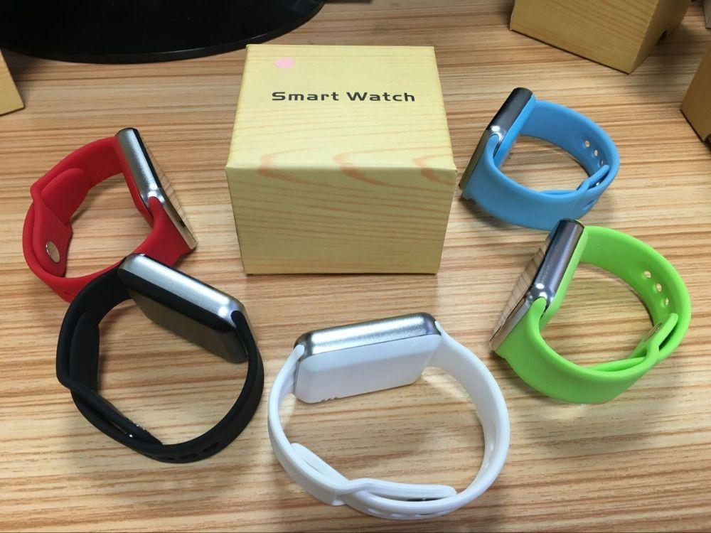 2018 teléfono elegante superior del reloj elegante A1 Venta caliente Smartwatches relojes usuales Bluetooth con cámara para teléfono inteligente Android Smartwatch