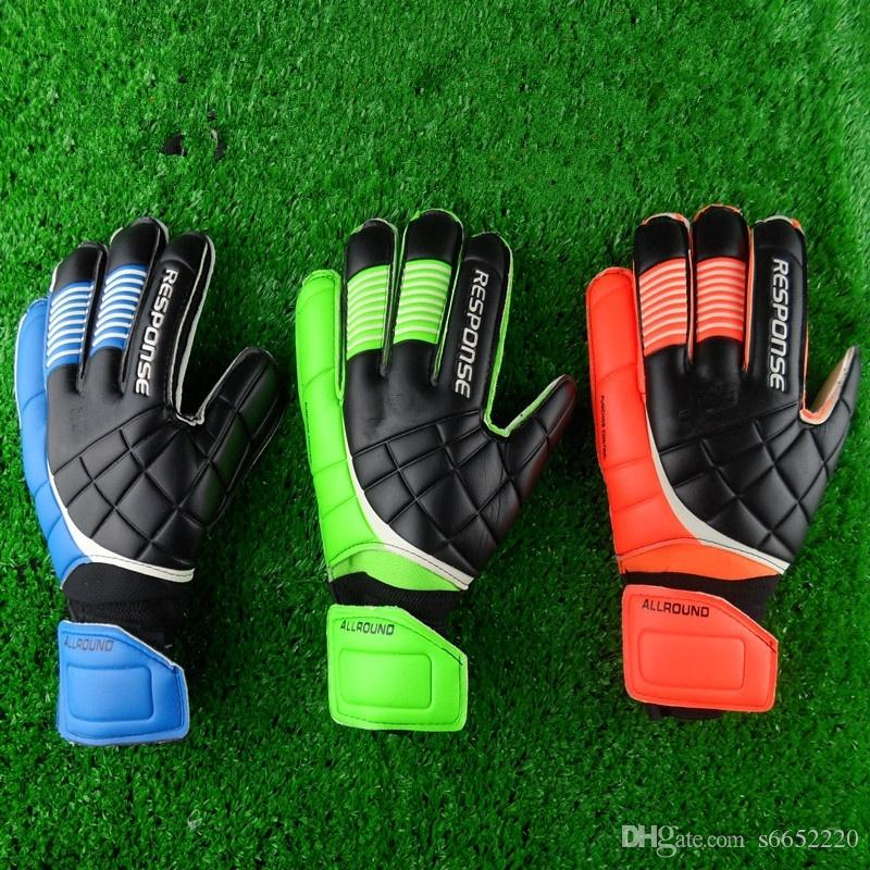 New Top Latex Football Goalkeeper Gloves Quality Goods Movement Male New Soccer Gloves Latex Professional Soccer ball Gloves