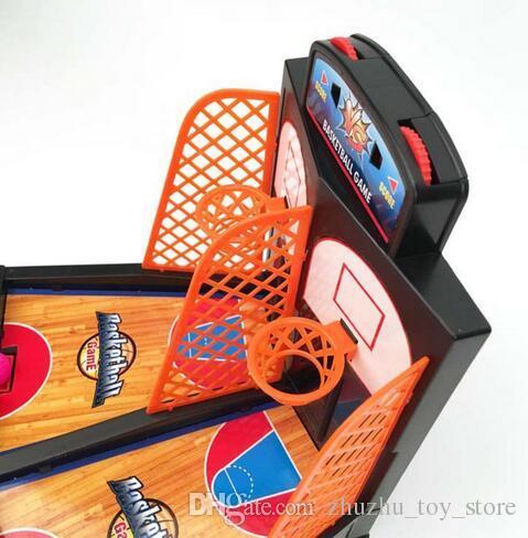 / juego de mesa de la diversión de la familia juega el mini juego del dedo del juego del baloncesto del lanzamiento para los niños