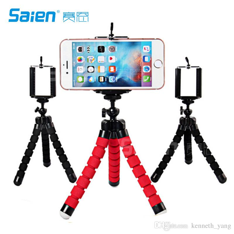 2018 Flexible Portable And Adjustable Tripod Stand Holder,Tripod For  Iphone, Android, Any Smartphone+Camera With Universal Clip From  Kenneth_yang, ...