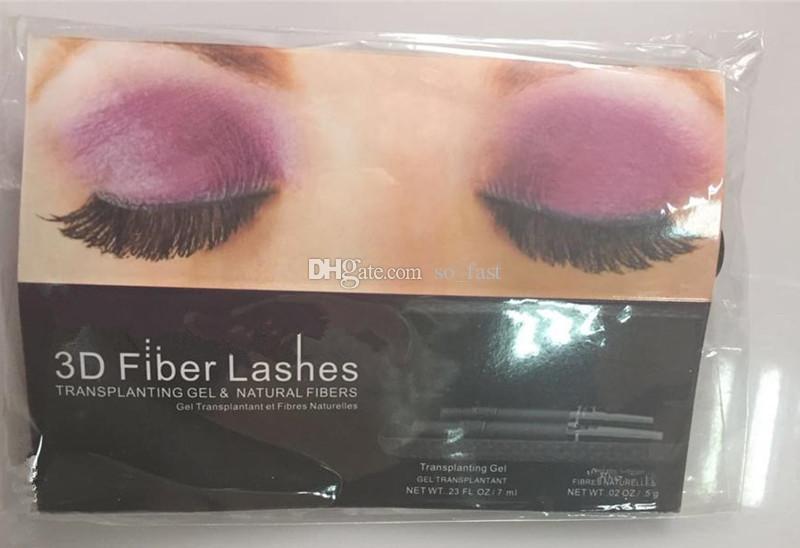 Ohne Box!!! 2017 neueste Mascara 3D FASER WIMPERN MASCARA 5103 Makeup wimpern wimpern wasserdicht doppel mascara 1 satz = 2 stück