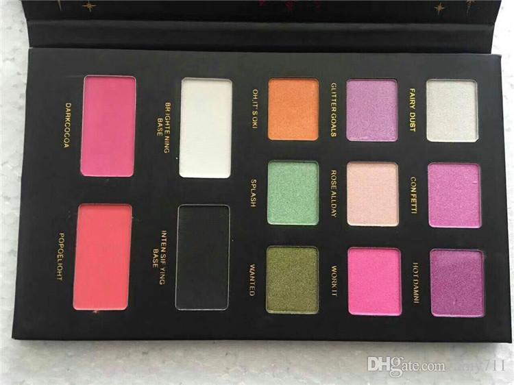 New Hot Makeup Faddist Glitter Bomb 2 Palette de fard à paupières PRISMATIC 13 couleur Ombre à Paupières DHL DHL Expédition + Cadeau