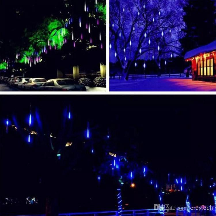 10 pezzi tubo lotto 800mm tubi Fairy Garden LED luci fata Meteor LED insegne al neon IP65 esterno utilizzando